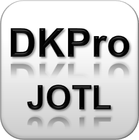 DKPro JOTL – Getting things done in NLP