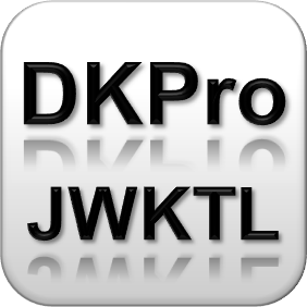 DKPro JWKTL – Getting things done in NLP
